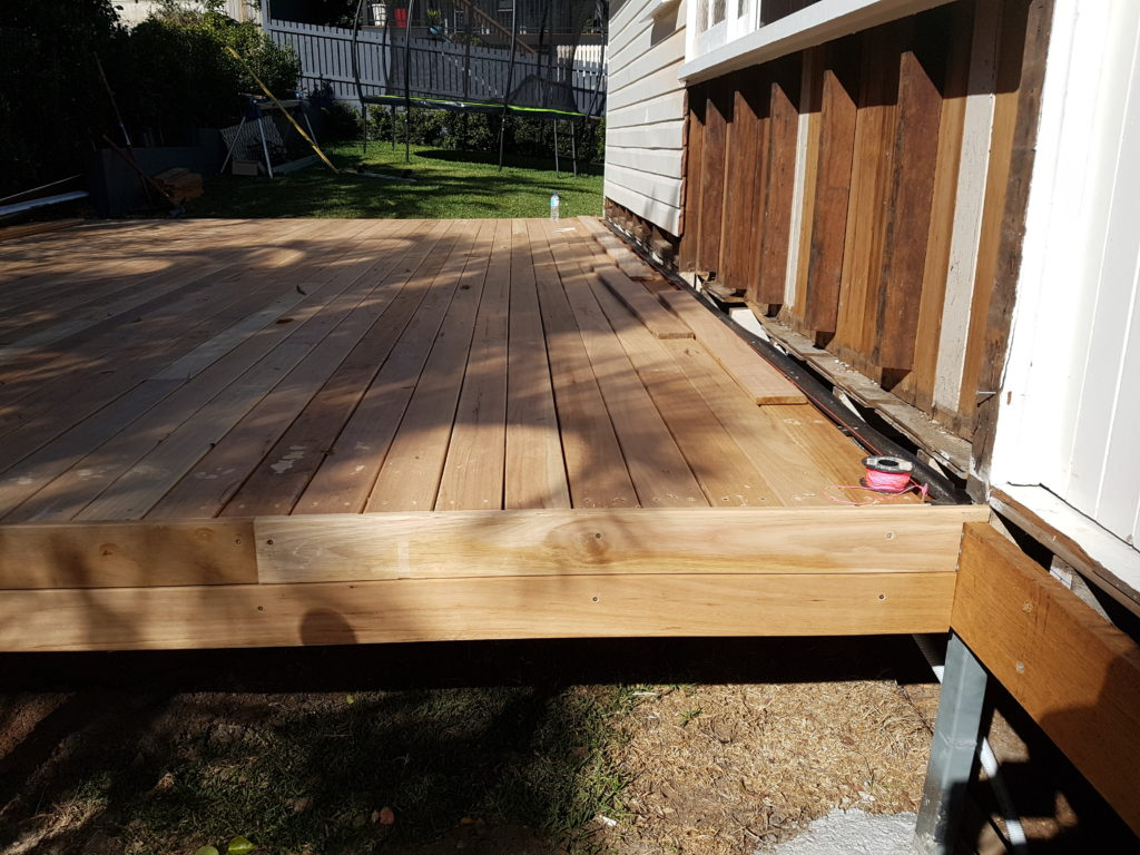 Addition of a Deck