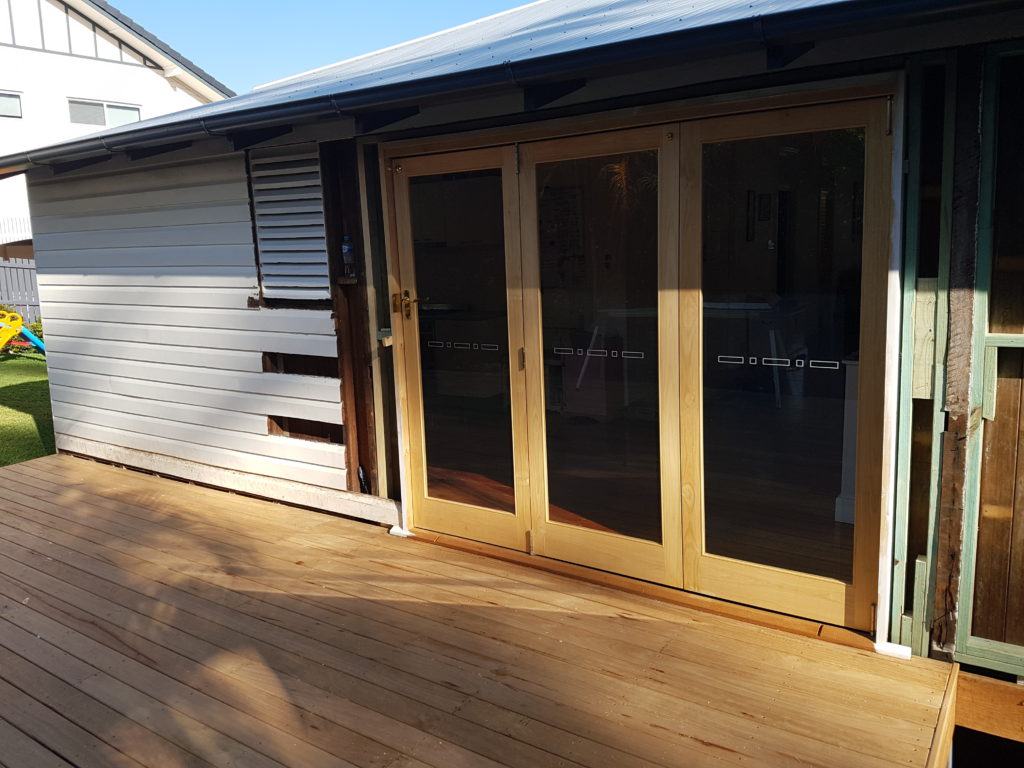 Open up Space with Bi-Fold Doors