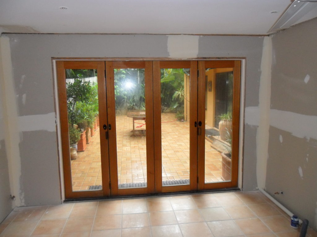Additon of Bi-Fold Doors