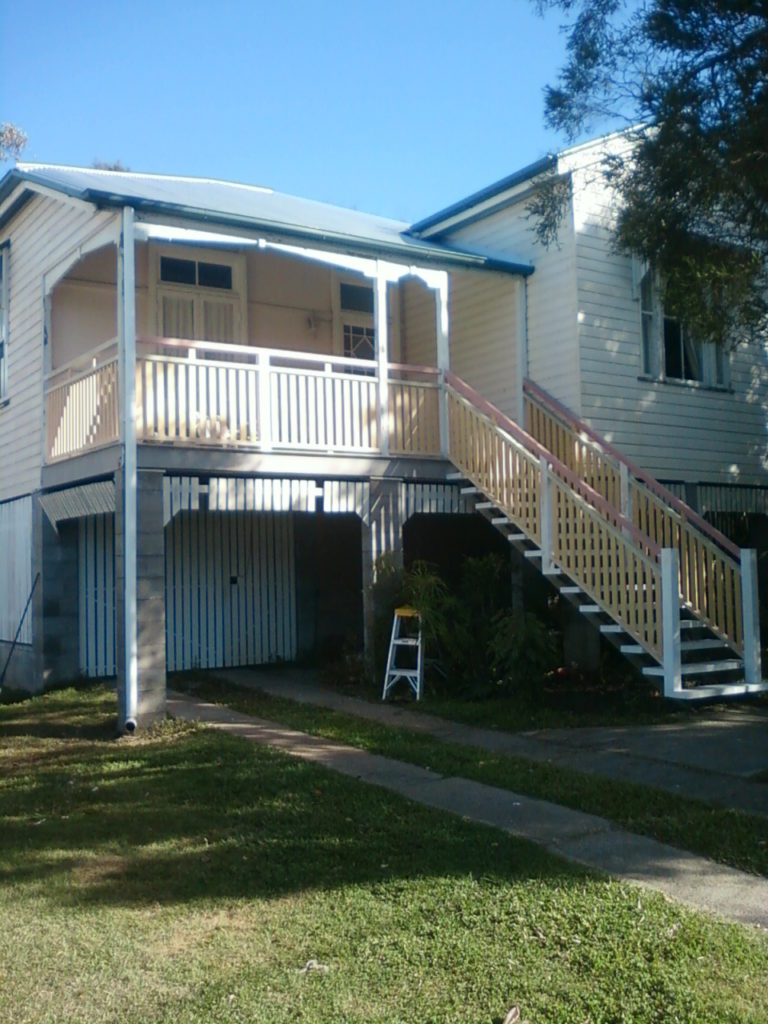Queenslander Stair Restoration